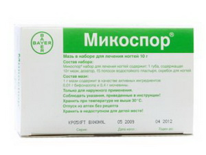 Микоспор инструкция