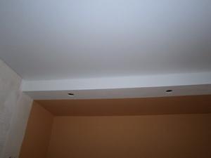 Устройство комбинированного потолка своими руками