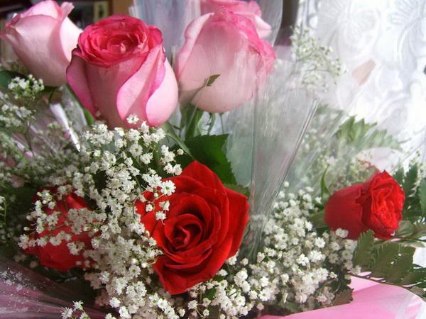 Цветы любимой до 8 Марта